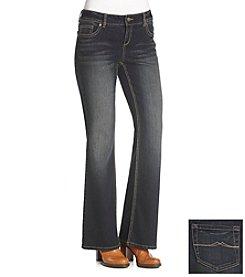 Ruff Hewn Classic Rise Ocean Wash Bootcut Jeans