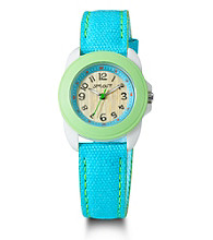 Sprout® Eco-Friendly Mid-Size Watch - Green/Blue