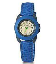 Sprout® Eco-Friendly Mid-Size Blue Watch