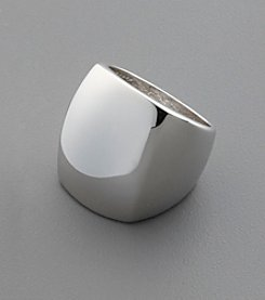 Tall Rounded Sterling Silver Ring