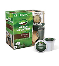 Green Mountain Coffee® Breakfast Blend 18-pk. K-Cup® Portion Pack