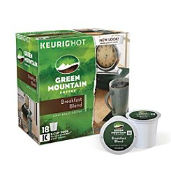 Keurig Green Mountain Coffee® Breakfast Blend 18-pk. K-Cup® Portion Pack
