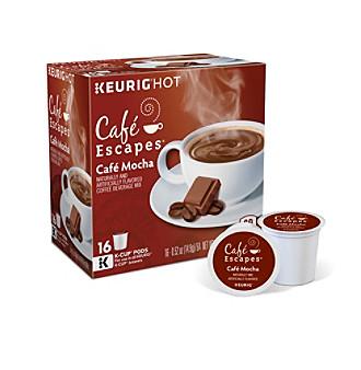 Keurig Café Escapes® Café Mocha Specialty Coffee 16-pk. K-Cup® Portion Pack