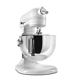 KitchenAid® Professional 5™ Plus Series 5-Quart White Bowl-Lift Stand Mixer