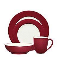 Noritake Colorwave Rim Raspberry 4-pc. Place Setting