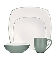 Noritake Colorwave Square Green 4-pc. Place Setting