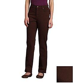 Gloria Vanderbilt® Amanda Twill Pants
