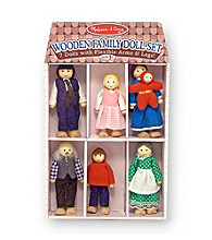 Melissa & Doug® Wooden Family Doll Set