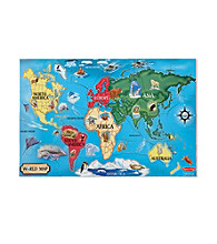 Melissa & Doug® 33-pc. World Map Floor Puzzle