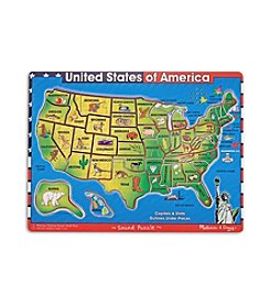 Melissa & Doug® U.S.A. Map Sound Puzzle