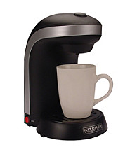 Kitchen Selectives® One-Cup Coffeemaker