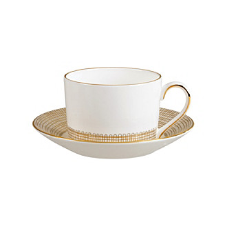 Vera Wang® Gilded Weave Teacup or Saucer