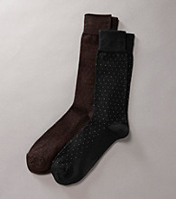 Kenneth Roberts Platinum® Men's Pima Cotton Pindot Socks