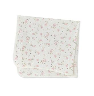 Little Me® Baby Girls' Vintage Rose Blanket - Pink