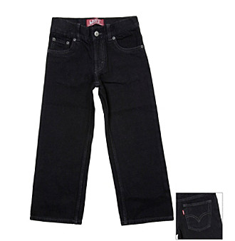 Levi's® Boys' 2T-7X 549™ Black Relaxed Straight Fit Jeans
