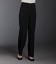 Briggs New York® Petites' The Slimming Solution™ Flat-Front Pants