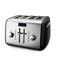 KitchenAid® 4-Slice Onyx Black Toaster