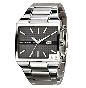 A|X Armani Exchange Men's Classic Stainless Steel Watch