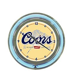 Officially Licensed Coors Ivory Neon Clock