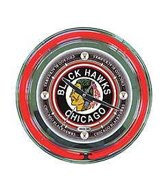 NHL® Chicago Blackhawks Vintage Neon Clock