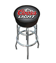 Coors Light® Logo Padded Bar Stool
