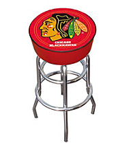 Chicago Blackhawks Padded Bar Stool