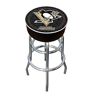 Pittsburgh Penguins Padded Bar Stool