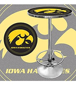 NCAA® University of Iowa Chrome Pub Table