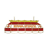 Officially Licensed Iowa State University Stained Glass Light Fixture - 40-inch