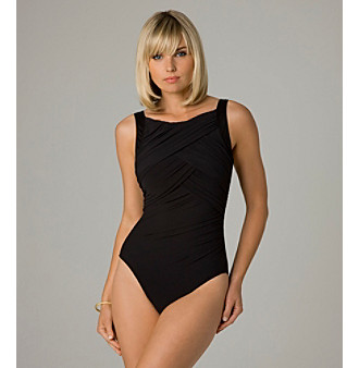 "Miraclesuit® ""High Def"" Maillot Swimsuit - Black"