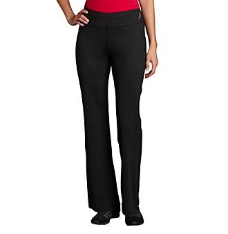Exertek® Wide Waistband Pants - Midnight Black