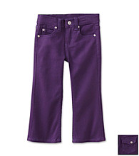 Little Miss Attitude Girls' 2T-6X Stretch Twill Denim Pants