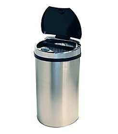 iTouchless® 13-gal. Semi-Round Extra Wide Opening Touchless Trashcan®