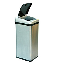 iTouchless® 13-gal. Square Extra-Wide Opening Touchless Trashcan®