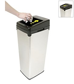 iTouchless® SX 14-gal. Stainless Steel Touchless Trashcan®