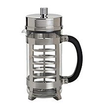 Bon Jour® 8-Cup Linear French Press - Polished Stainless Steel