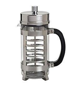 BonJour® 8-Cup Linear French Press - Polished Stainless Steel