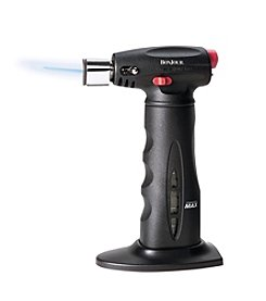 BonJour® Black Chef's Torch with Fuel Gauge