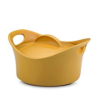 Rachael Ray® Yellow Stoneware 2.75-qt. Casserround™