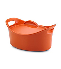 Rachael Ray® Orange Stoneware 4.25-qt. Casseroval™