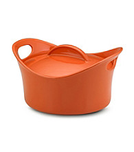 Rachael Ray® Orange Stoneware 2.75-qt. Casserround™