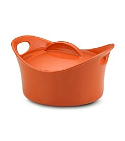 Rachael Ray® Stoneware 2.75-qt. Orange Casserround™