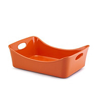 Rachael Ray® Orange Stoneware 9