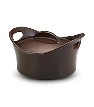 Rachael Ray® Chocolate Stoneware 2.75-qt. Casserround™