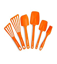Rachael Ray® Orange Nylon Tools 6-pc. Set
