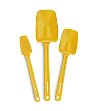 Rachael Ray® Yellow Nylon Tools 3-pc. Spoonula Set