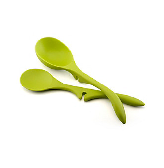 "Rachael Ray® Green Nylon Tools 2-pc. ""Lazy"" Set"