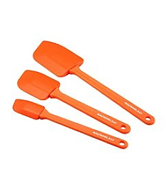 Rachael Ray® Nylon Tools Orange 3-pc. Lil' Devils Spatula Set