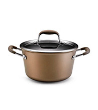 Anolon® Advanced Bronze Collection 4.5-qt. Covered Tapered Sauce Pot