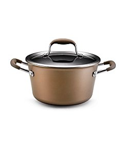 Anolon® Advanced 4.5-qt. Bronze Collection Covered Tapered Sauce Pot